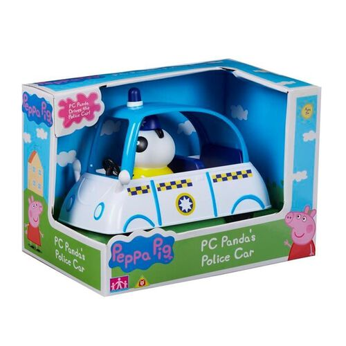 Peppa Pig粉紅豬小妹 熊貓警車