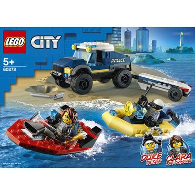 LEGO City 警察船隻運輸 60272