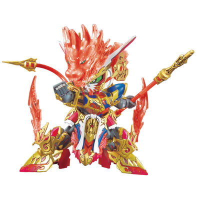 Bandai萬代 塑膠模型 SD高達世界 群英集 悟空衝擊高達