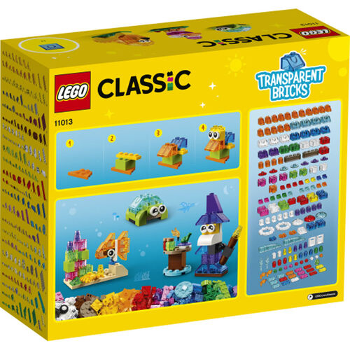 LEGO Classic Creative Transparent Bricks  -  11013