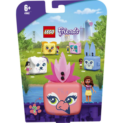 LEGO樂高好朋友系列 Olivia 的火烈鳥遊戲寶盒 - 41662