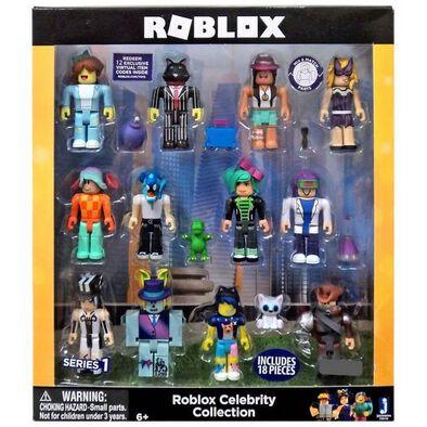 Roblox機器磚塊人物造型公仔12件裝