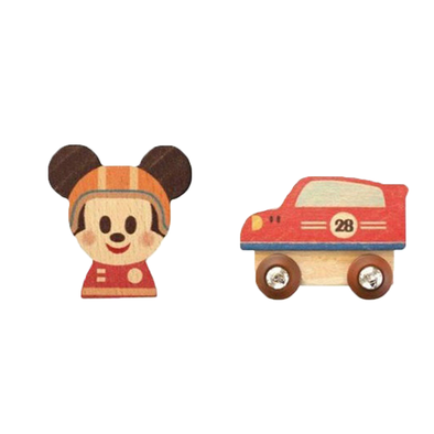 Disney Kidea 積木跑車米奇