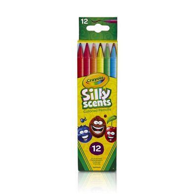 Crayola繪兒樂 百變香味系列可擰轉旋轉鉛筆12支裝