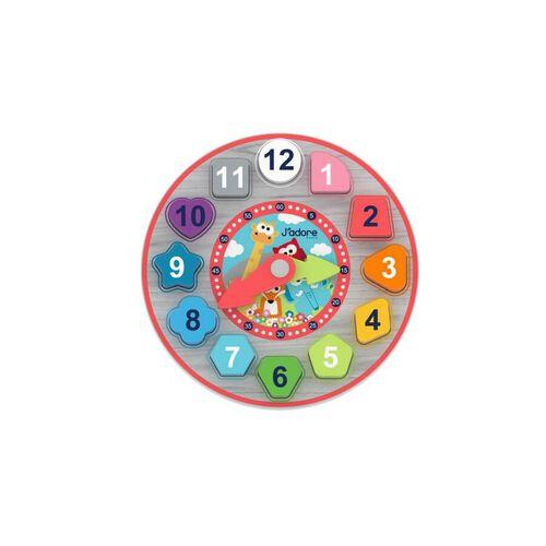 J'Adore 積木分類時鐘