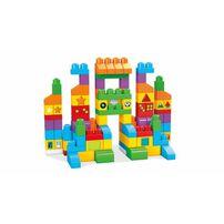 Mega Bloks美高積木first Builders系列150片大大積木學習套裝