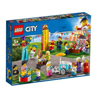 LEGO樂高城市系列 嘉年華 - 城市人物套裝 60234