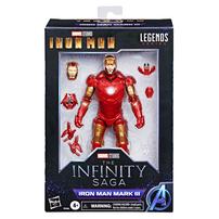 "Marvel漫威 Legends Series 6""人物模型鐵甲奇俠Mark 3 Infinity Saga"