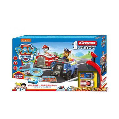 Carrera First Set - Paw Patrol - Race 'N' Rescue - 3.5M