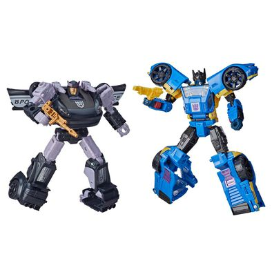 Transformers Generations War For Cybertron Dominus Criminal Pursuit 2-Pack