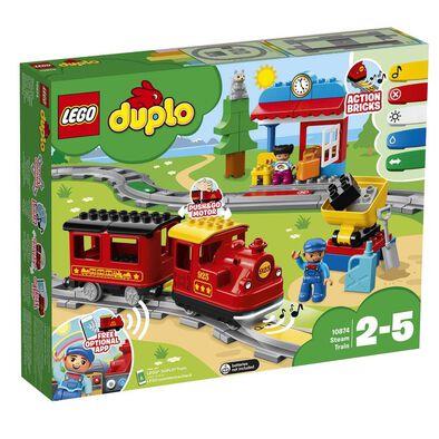 LEGO樂高得寶系列steam Train 10874