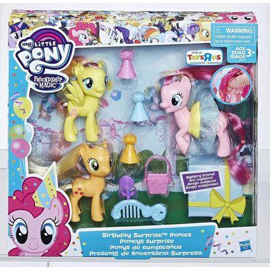 My Little Pony小馬寶莉生日驚喜ponies