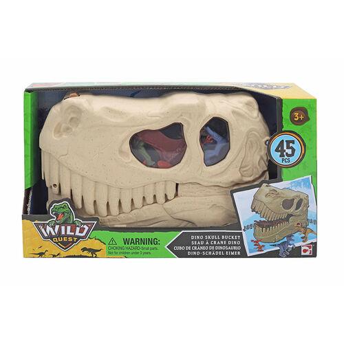 Wild Quest 恐龍頭桶裝