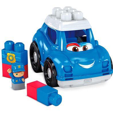 Mega Bloks美高積木first Builders系列彼得警車