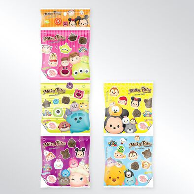 Disney迪士尼tsum Tsum 朱古力餅 五連包