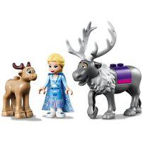 LEGO樂高disney Frozen迪士尼魔雪奇緣2系列 Elsa的旅行車大冒險 41166