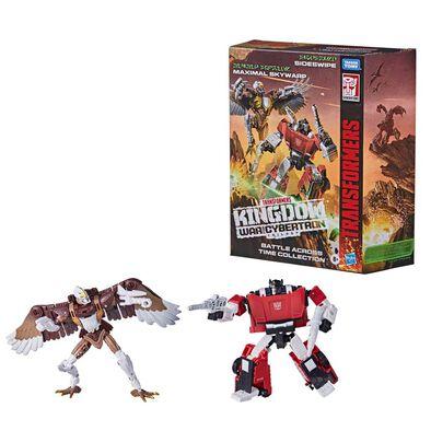 Transformers變形金剛Generations 系列 世代斯比頓之戰 王國超時空之戰系列豪華級別 WFC-K42 斯韋伯和麥斯武人天鷗