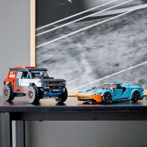 LEGO樂高超級賽車系列 Ford GT Heritage Edition and Bronco R 76905