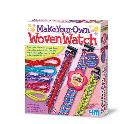 4M工藝系列 編織絢麗錶帶