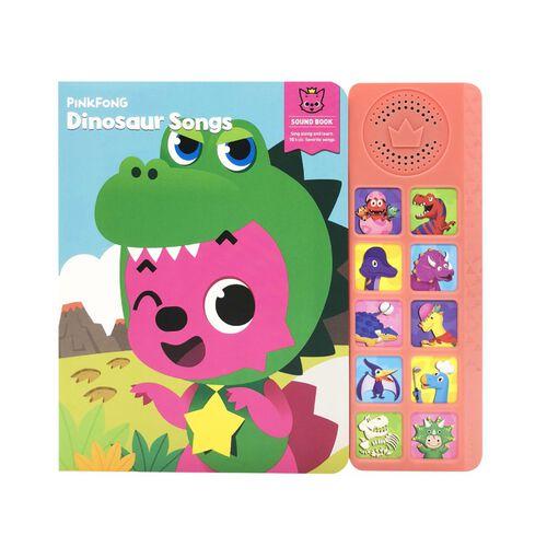 Pinkfong碰碰狐 - 恐龍唱歌發聲圖書