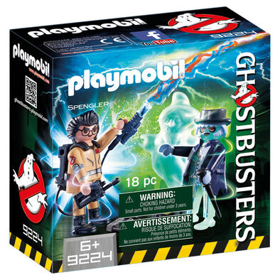 Playmobil Ghostbuster Spengler And Ghost