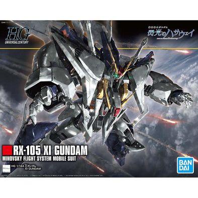 Bandai萬代 塑膠模型 HGUC 1/144 Xi高達
