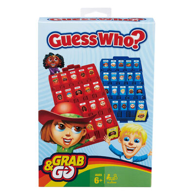 Hasbro Gaming Guess Who Grab And Go Game