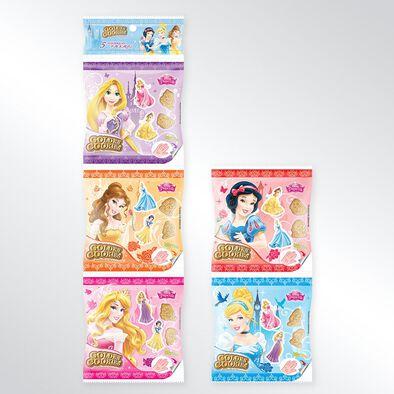 Disney Princess迪士尼公主糖珠餅乾 五連包