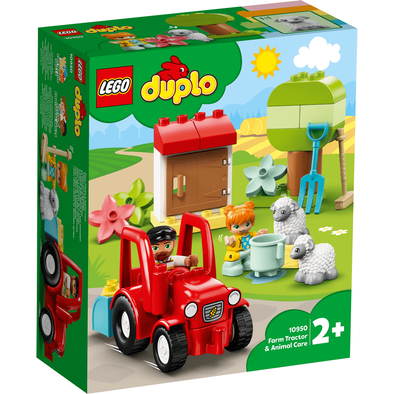 LEGO樂高得寶系列農場拖拉機和動物看護 - 10950