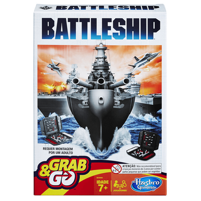 Hasbro Gaming孩之寶遊戲 Battleship輕便版遊戲