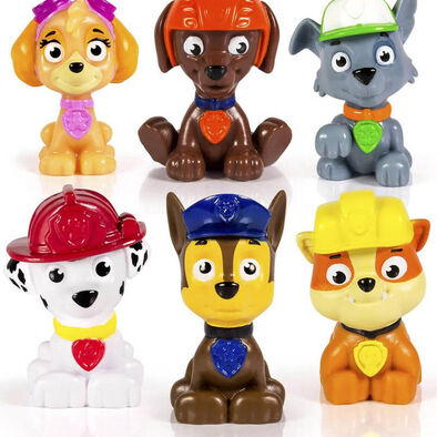 Paw Patrol Mini Figure Rescue Team 6 Pk