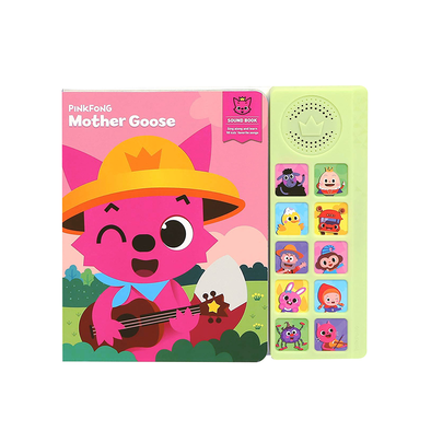 Pinkfong碰碰狐 - 鵝媽媽唱歌發聲圖書