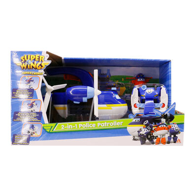 Super Wings超級飛俠-二合一警察巡邏隊