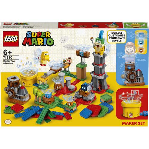 LEGO樂高超級瑪利歐系列 瑪利歐關卡工具箱 - 71380