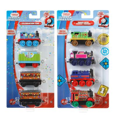 Thomas & Friends湯瑪士小火車 4件裝 (民族版) - 隨機發貨
