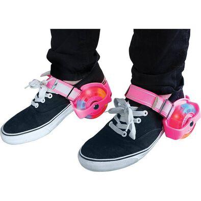 Hy Pro Zinc閃燈滑步輪鞋 (粉紅色)
