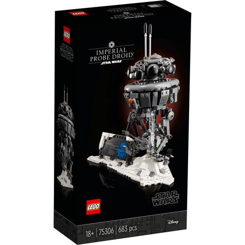 LEGO樂高 星球大戰系列 Imperial Probe Droid 75306