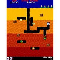 Arcade1up 經典迷你街機系列 打空氣 Dig Dug