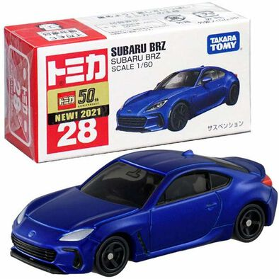 Tomica多美 合金車 No. 28 Subaru Brz