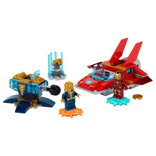 LEGO樂高漫威超級英雄系列 Iron Man vs. Thanos - 76170