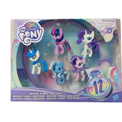 My Little Pony小馬寶莉 小馬寶莉閃閃獨角獸收藏套裝