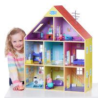 Peppa Pig粉紅豬小妹 超質感巨型木製房屋組