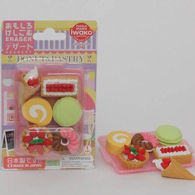 Iwako岩澤 甜品造型擦膠