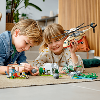 LEGO樂高城市系列 野生動物救援行動 60302