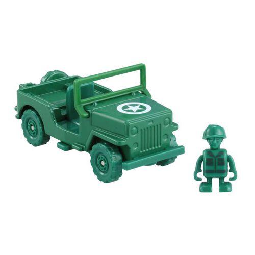 Dream Tomica多美 Ride-On Ts-07 綠軍男子與貨車