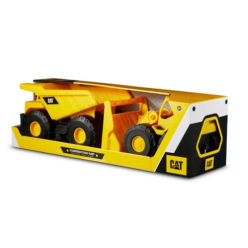 Cat卡特比勒 建築車隊10寸車輛2件裝