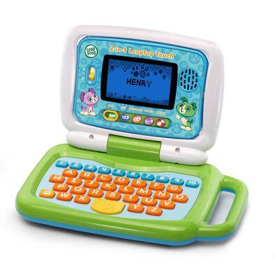 Leapfrog跳跳蛙 二合一點屏益智學習小電腦 (綠色)