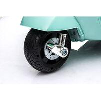 Mini Vespa偉士 兒童電動迷你綿羊仔電單車-湖水綠