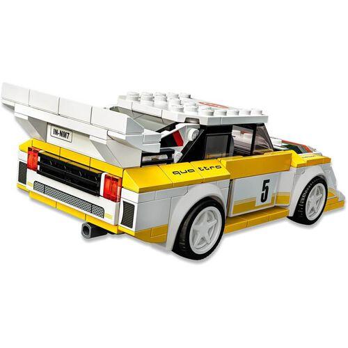 LEGO樂高超級賽車系列 1985 Audi Sport Quattro S1 76897
