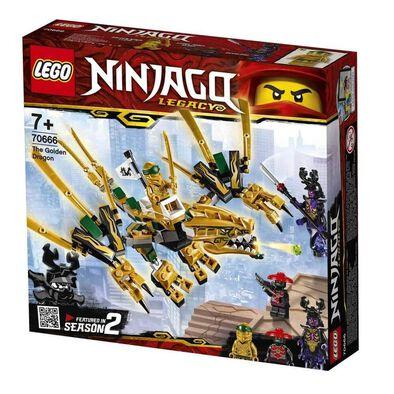 LEGO樂高幻影忍者系列黃金巨龍 70666